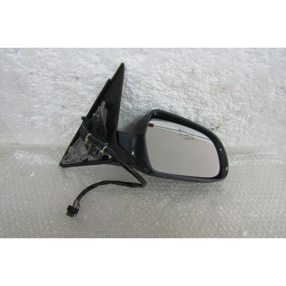 Vetro Specchio Retrovisore Destro termico per A4 dal 2007 a 2011